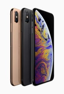 iPhone XS Colours