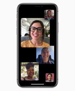 iOS 12 ipHone Group FaceTime