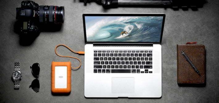 2TB Hard Drive Portable Mac USB-C USB 3
