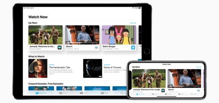 Apple TV tvOS iPad iPhone iOS 4K TV Show Film Movie