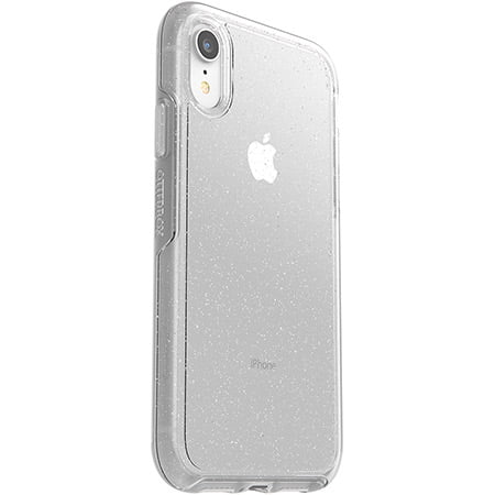 Otterbox iPhone XR Clear Symmetry Case Glitter
