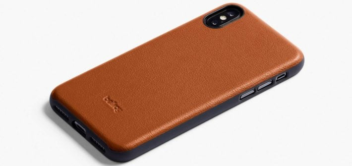iPhone XS Leather Case Bellroy Caramel