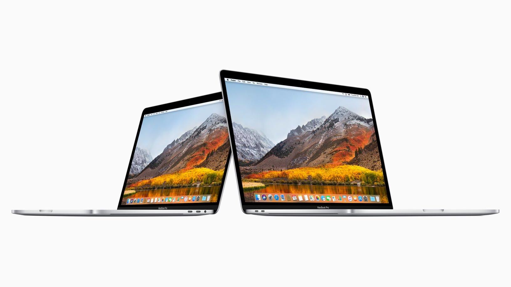 Apple MacBook Pro Mid 2018 13-inch & 15-inch