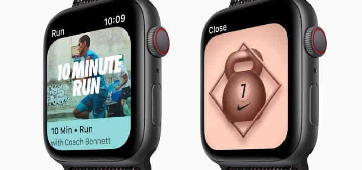 Nike Run Club Apple Watch Series 4
