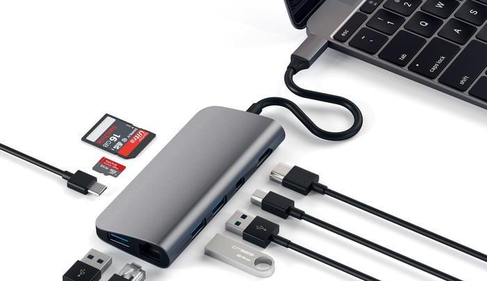 Satechi USB-C dock MacBook