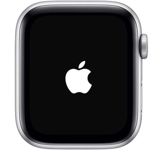 watchos5-series4-watch-restart-screen-apple-logo