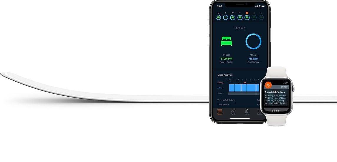 Beddit App Apple Updated