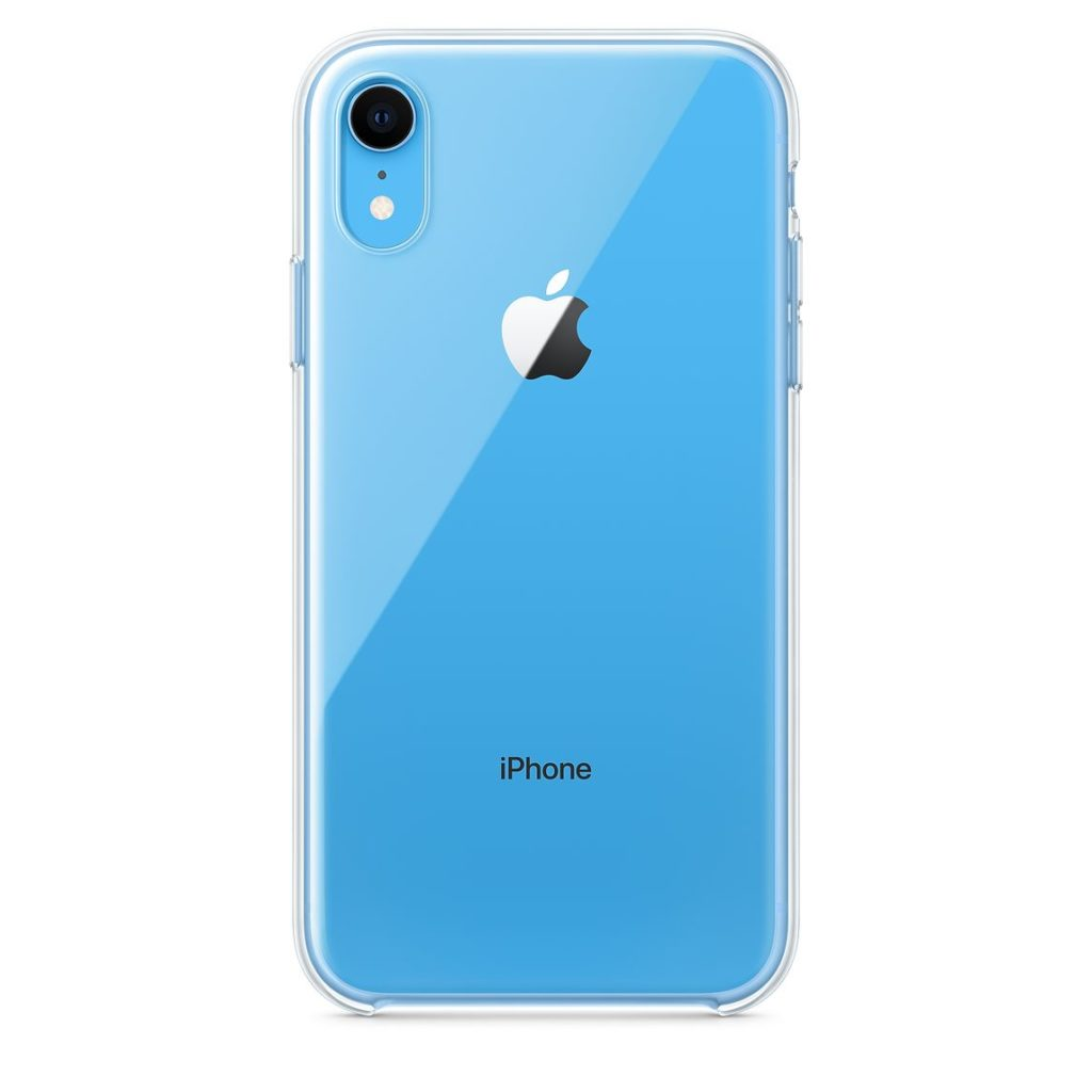 Apple iPhone XR Clear Case Blue