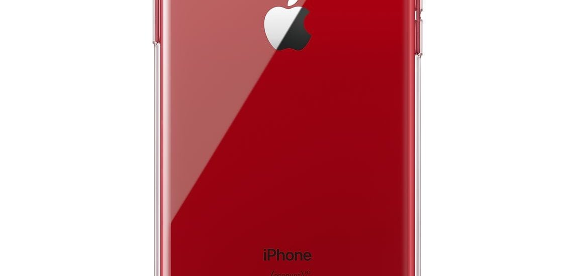 Apple iPhone XR Clear Case Product RedApple iPhone XR Clear Case Product Red