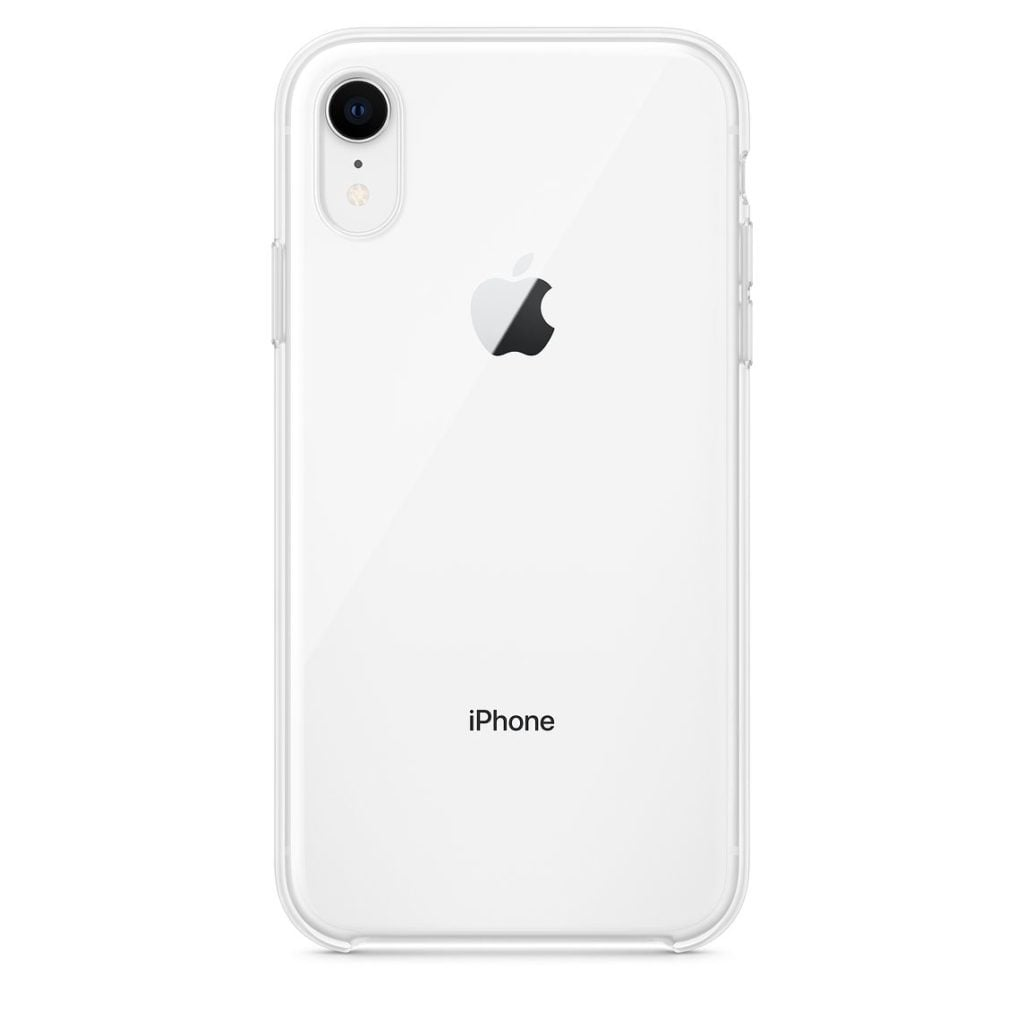 Apple iPhone XR Clear Case White