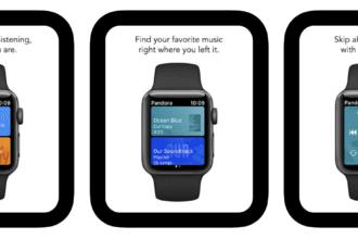 Pandora Apple Watch app offline music playback