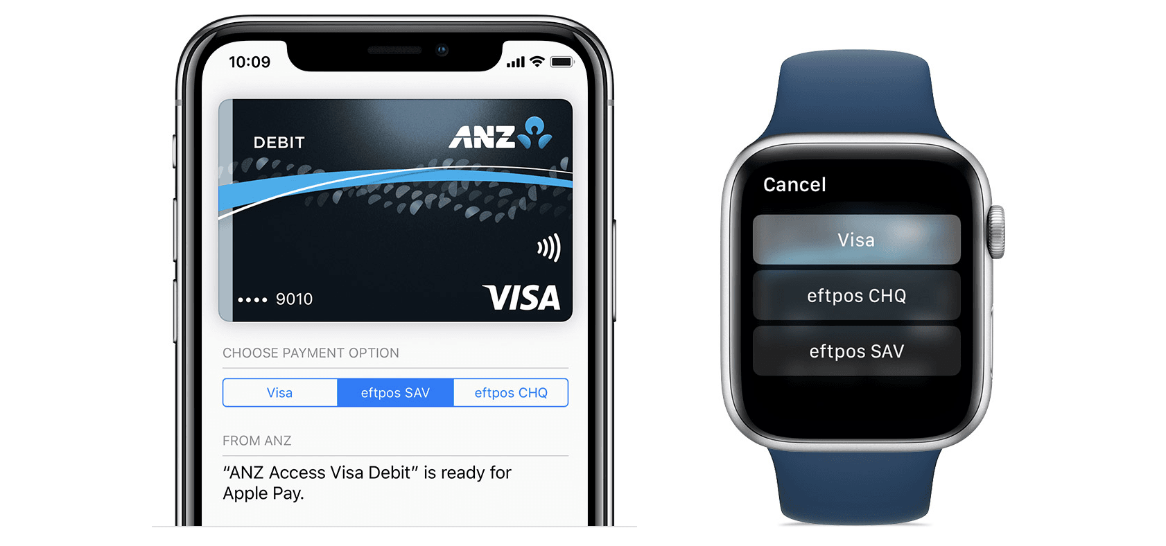 How to use dual eftpos / Visa cards with Apple Pay   Mac