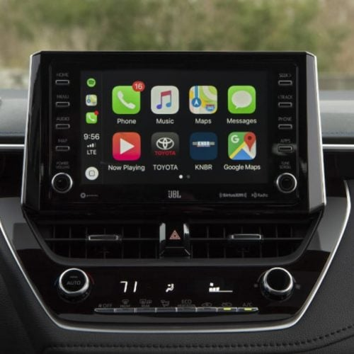 Apple CarPlay in US Toyotal Corolla
