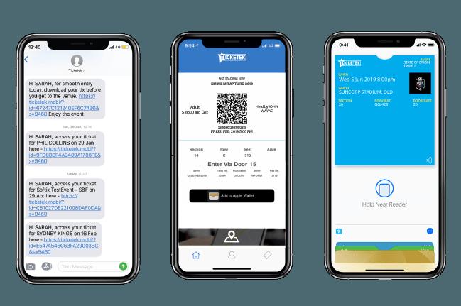 Ticketek adds contactless tickets using Apple Wallet   Mac