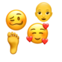 Most popular new emojis in iOS12